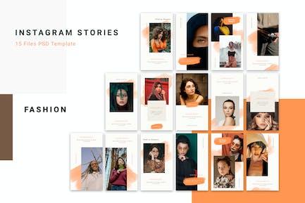 Instagram Stories Trend Mode
