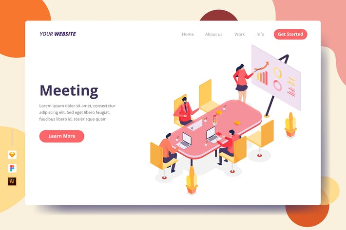 Thumbnail for Meeting - Landing Page