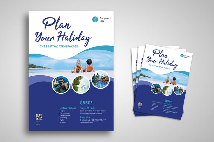 Thumbnail for Holiday Flyer Promo Template