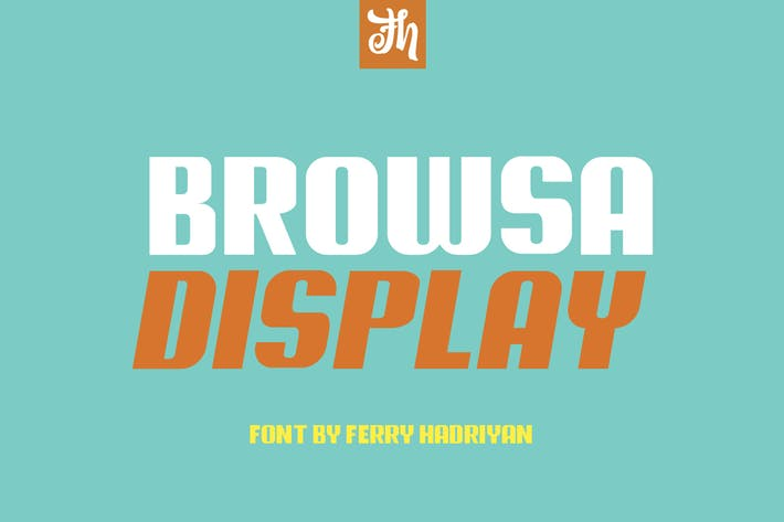 Thumbnail for Browsa - Display Font