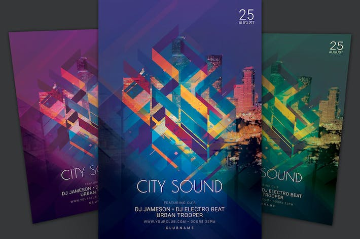 Thumbnail for City Sound Flyer
