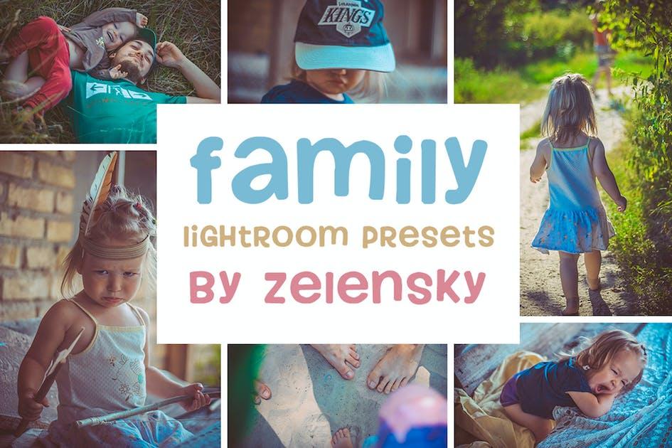Download Family & Children Lightroom Presets by ZelenskyRuslan