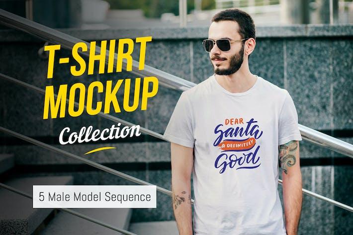 Thumbnail for T-Shirt Mockup Collection 03