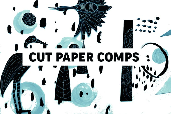 Cover Image For Cut Paper Compositions