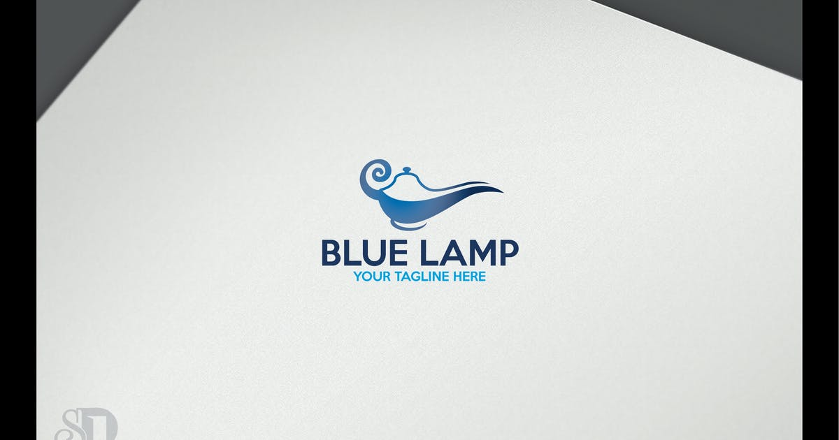 Download BLUE LAMP by shazidesigns