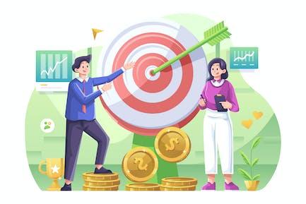 Business Goals Illustration