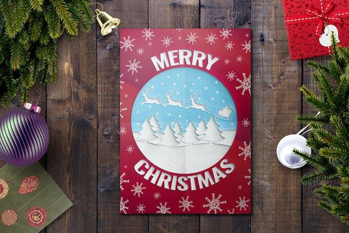 Thumbnail for Christmas Card Template