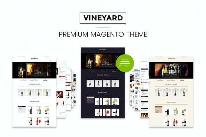 Thumbnail for Wine Store Responsive Magento Thème CE 1.9.x