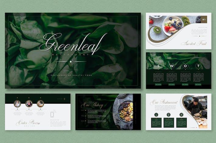 Elegant Modern Theme - Healthy Food Presentation