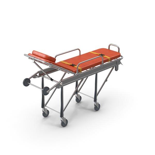 Stahl Ambulance Stretcher Krankenhaus Bett Gurney