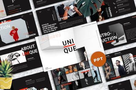 Unique - Fashion Powerpoint Templates