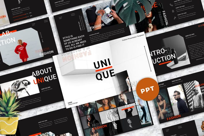 Unique - Fashion Powerpoint Templates