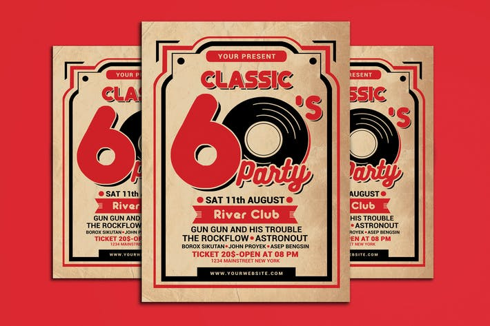 Thumbnail for Retro 60's Music Event
