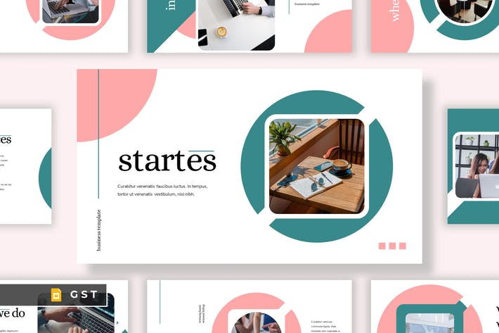 Thumbnail for STARTES - Business Google Slides Template