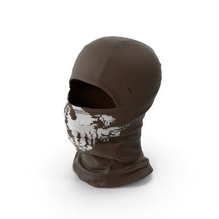 Sturmhaube Mask Braun