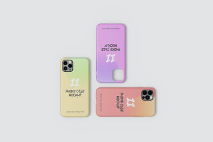 Phone 11 case mockup