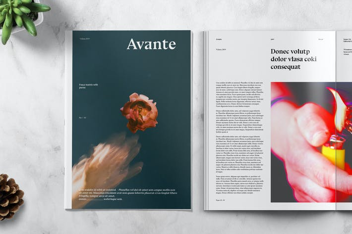 Thumbnail for AVANTE - Art Magazine Template