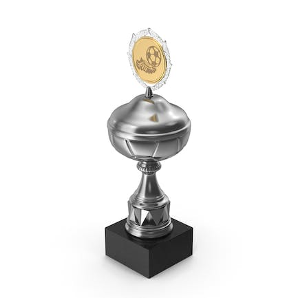 Award Soccer Trophy Cup Silver