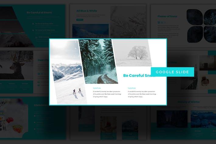 Thumbnail for Winter Session - Google Slides Template