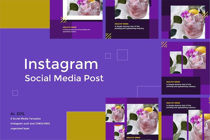 Thumbnail for Instagram Social Media post