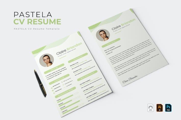 Pastela | CV & Resume