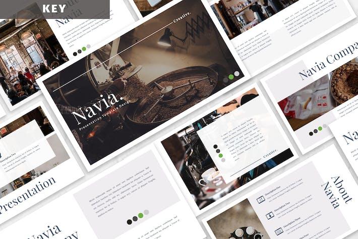 Thumbnail for Navia - Kaffee Keynote Vorlage