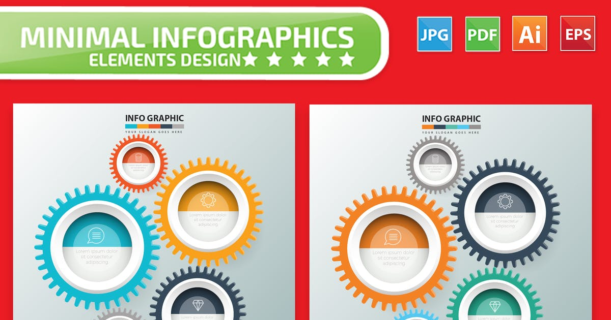 Download Gear Infographics by mamanamsai