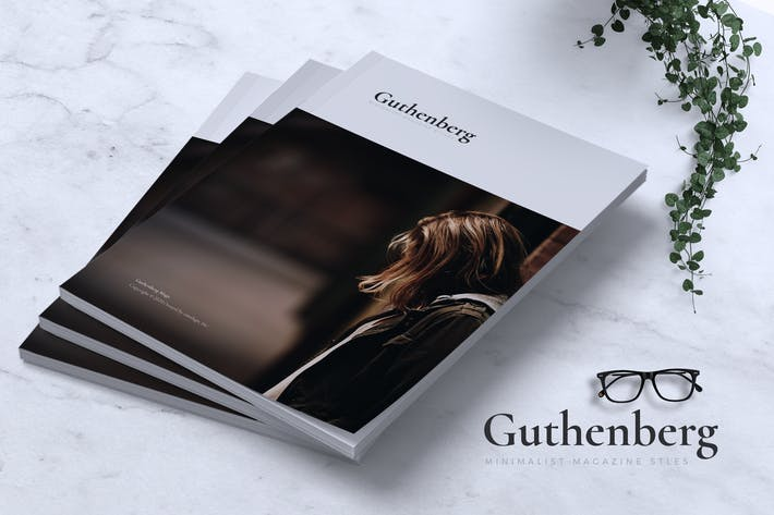 Thumbnail for GUTHENBERG Styles minimalistes de magazines