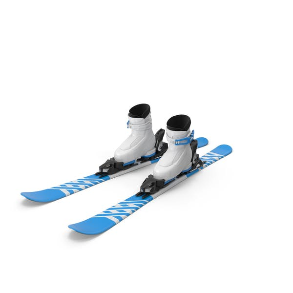 Alpine Boots & Ski Set