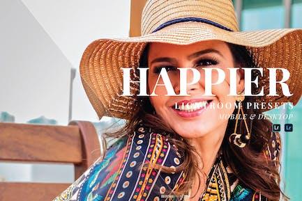 Happier Mobile and Desktop Lightroom Presets