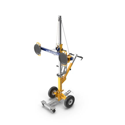 Heavydrive Glas-Transport- und Rotationsgerät