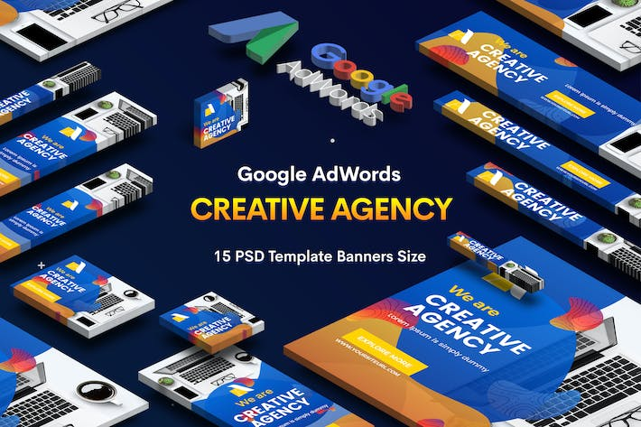 Thumbnail for Creative Agency, Studio Banners Ad