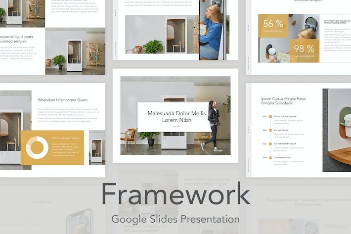 Thumbnail for Framework Google Slides Template