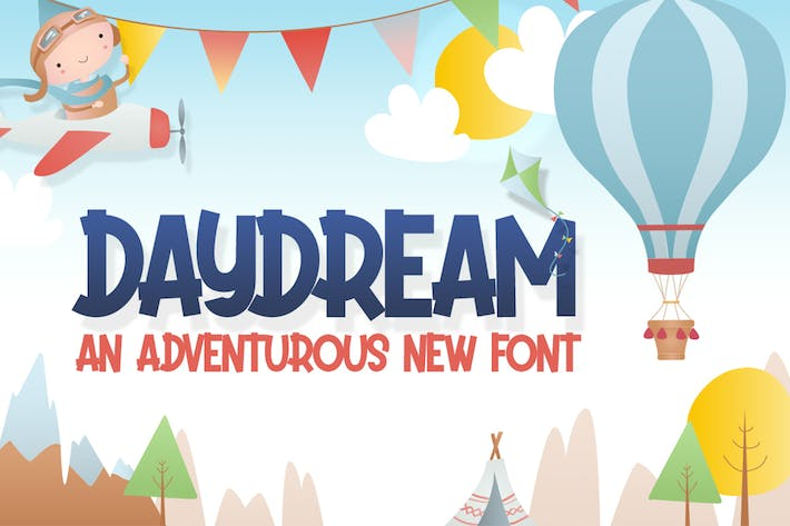 Thumbnail for Daydream Kids Font