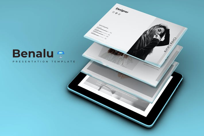 Thumbnail for Benalu - Keynote Template