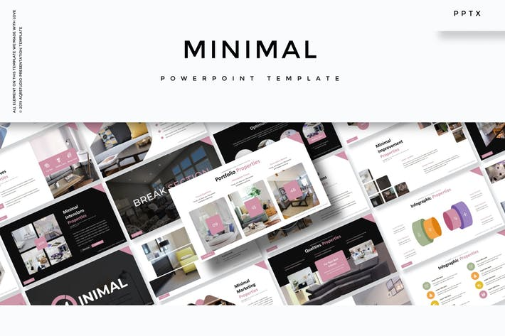 Thumbnail for Minimal - Powerpoint Template