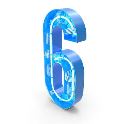 Tech - Alfabeto número 6