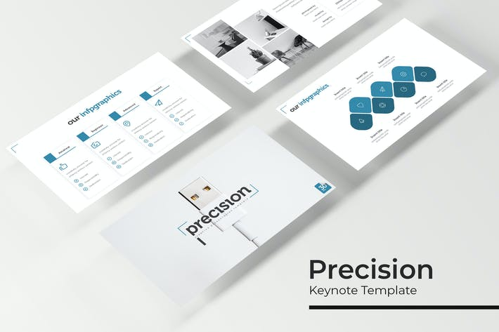 Thumbnail for Precision - Keynote Template