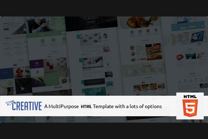 Thumbnail for Creative - Multipurpose HTML Business Theme