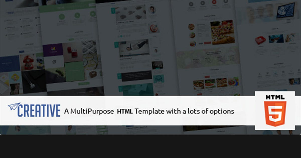 Download Creative - Multipurpose HTML Business Theme by max-themes