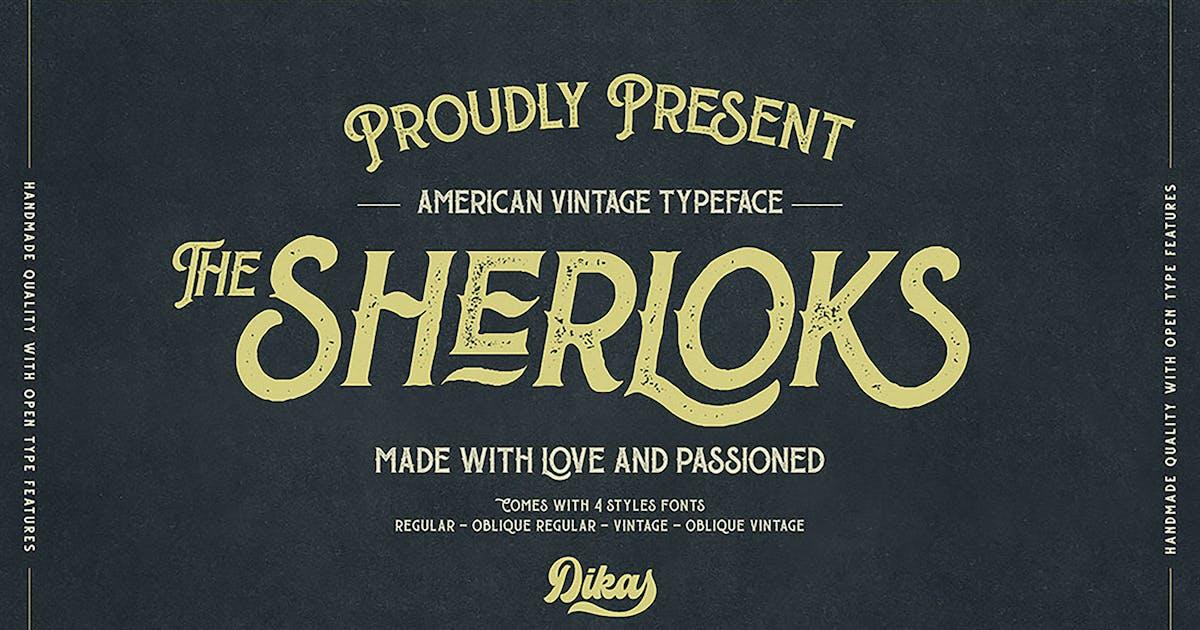 Download The Sherloks - 4 Styles by DikasStudio