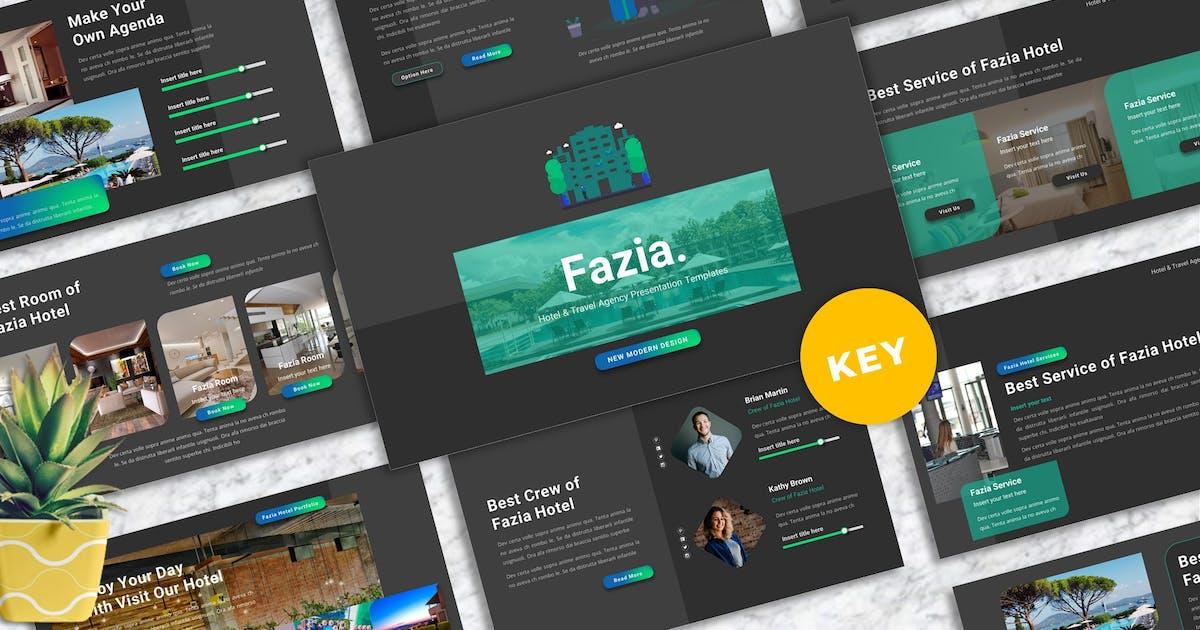 Download Fazia - Hotel Keynote Templates by Yumnacreative