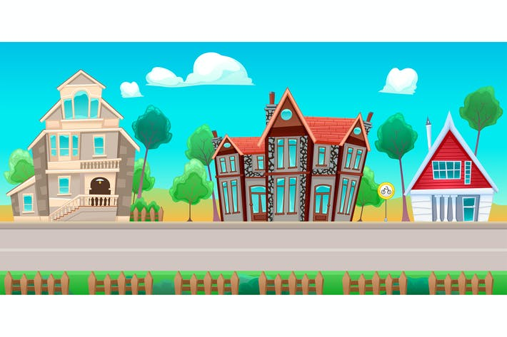 Thumbnail for Road with Houses