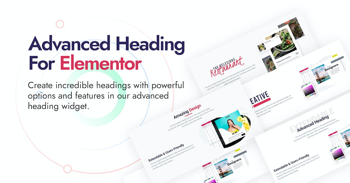 Download Advanced Heading and Animated Text for Elementor by DynamicLayers