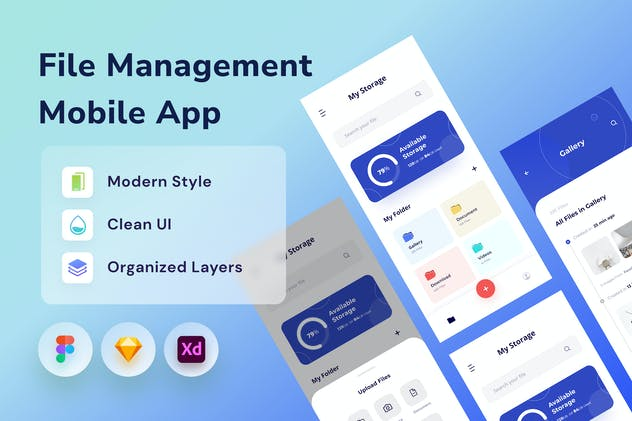 File Managemnt App - product preview 0