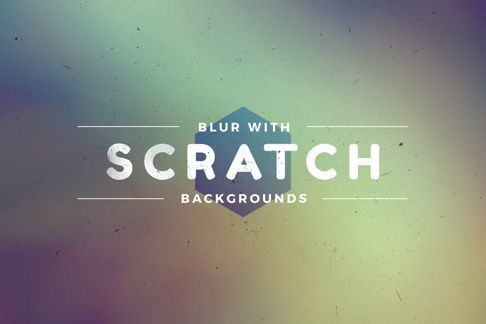 Thumbnail for Scratched Blur Backgrounds Pack
