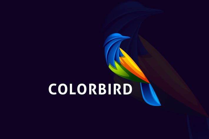 Thumbnail for Modern Colorful Bird Logo