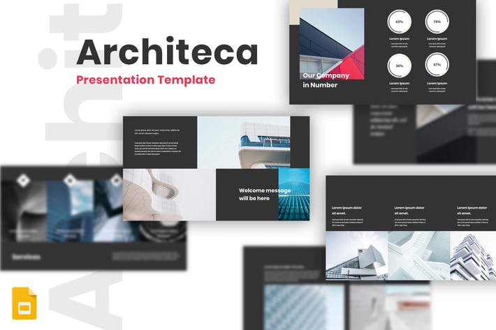 Thumbnail for Architeca - Architecture Google Slides Templates