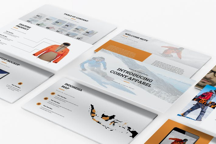 Thumbnail for Apparel Product Launching Keynote Template