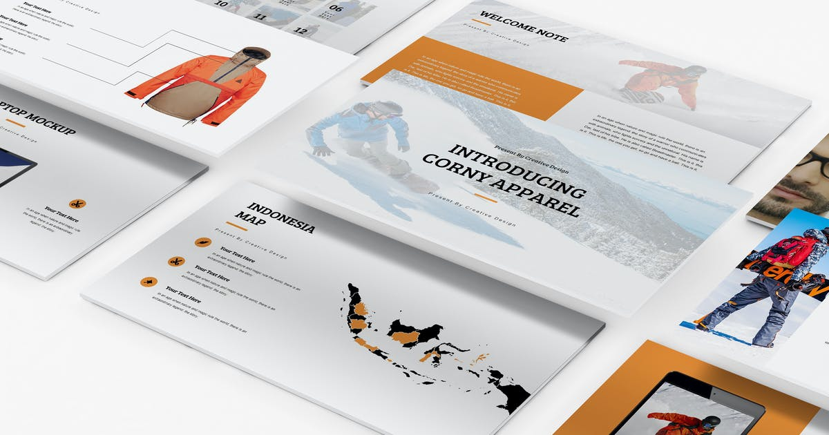 Download Apparel Product Launching Keynote Template by Incools